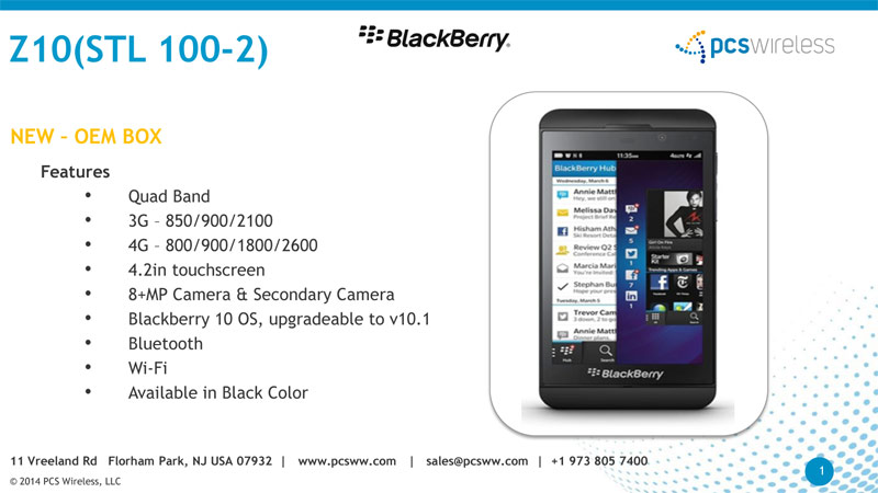 Wholesale blackberry z10 cell phone