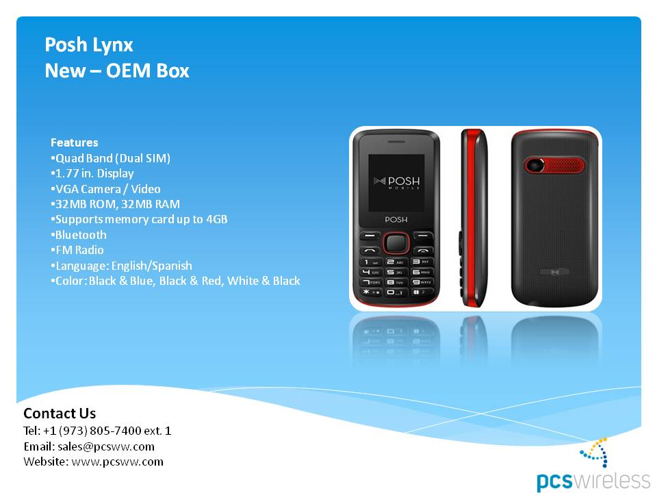 wholesale distributor of psh lynx cell phones