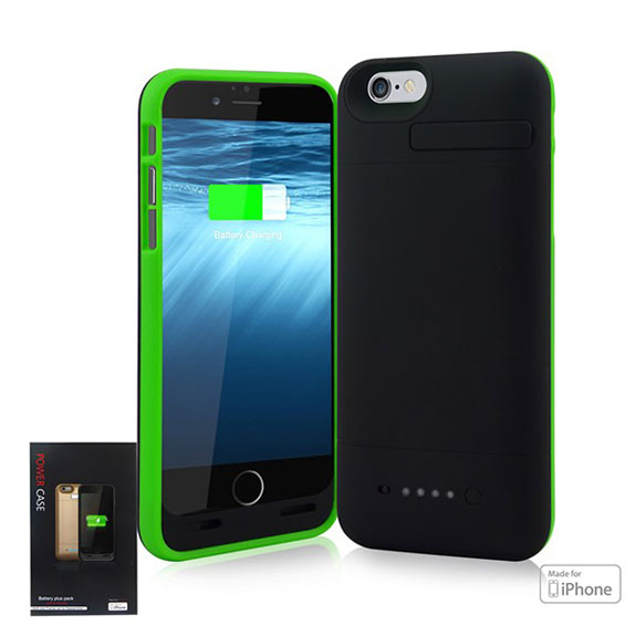 Cell phone case charger for iphone 6, wholesale