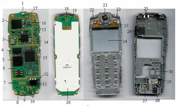 distributor of spare parts for cell phones