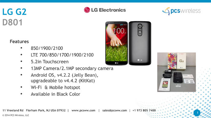 lg g2 wholesale cell phones