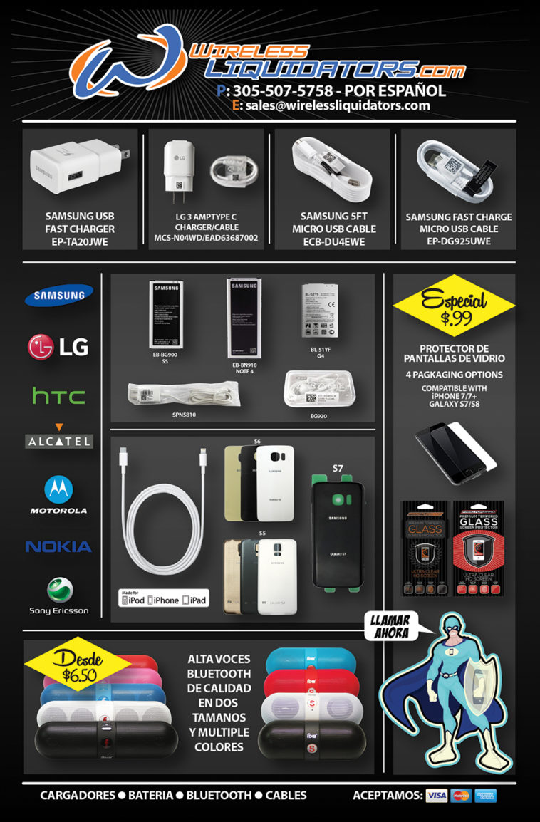 Wholesaler of cell phone accessories
