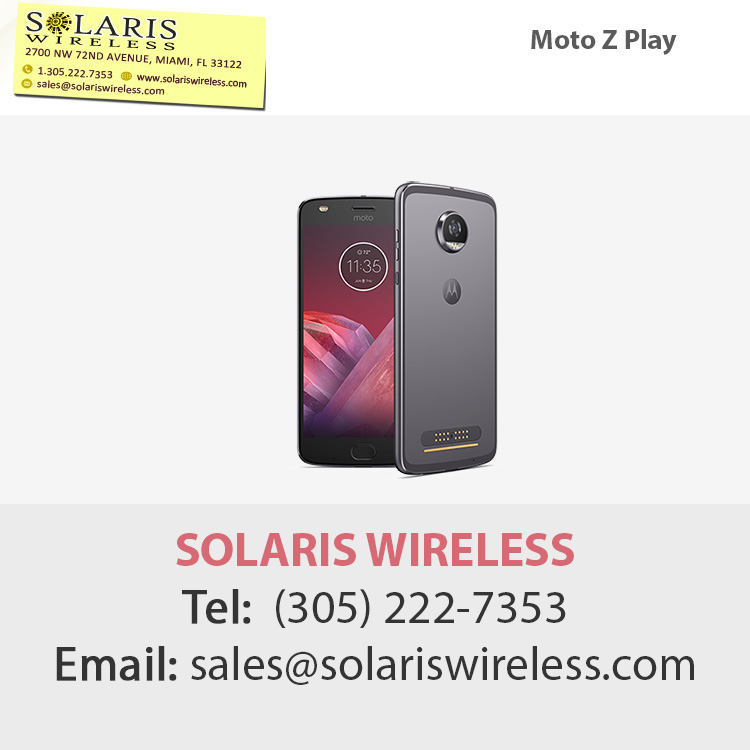 Wholesale moto z play