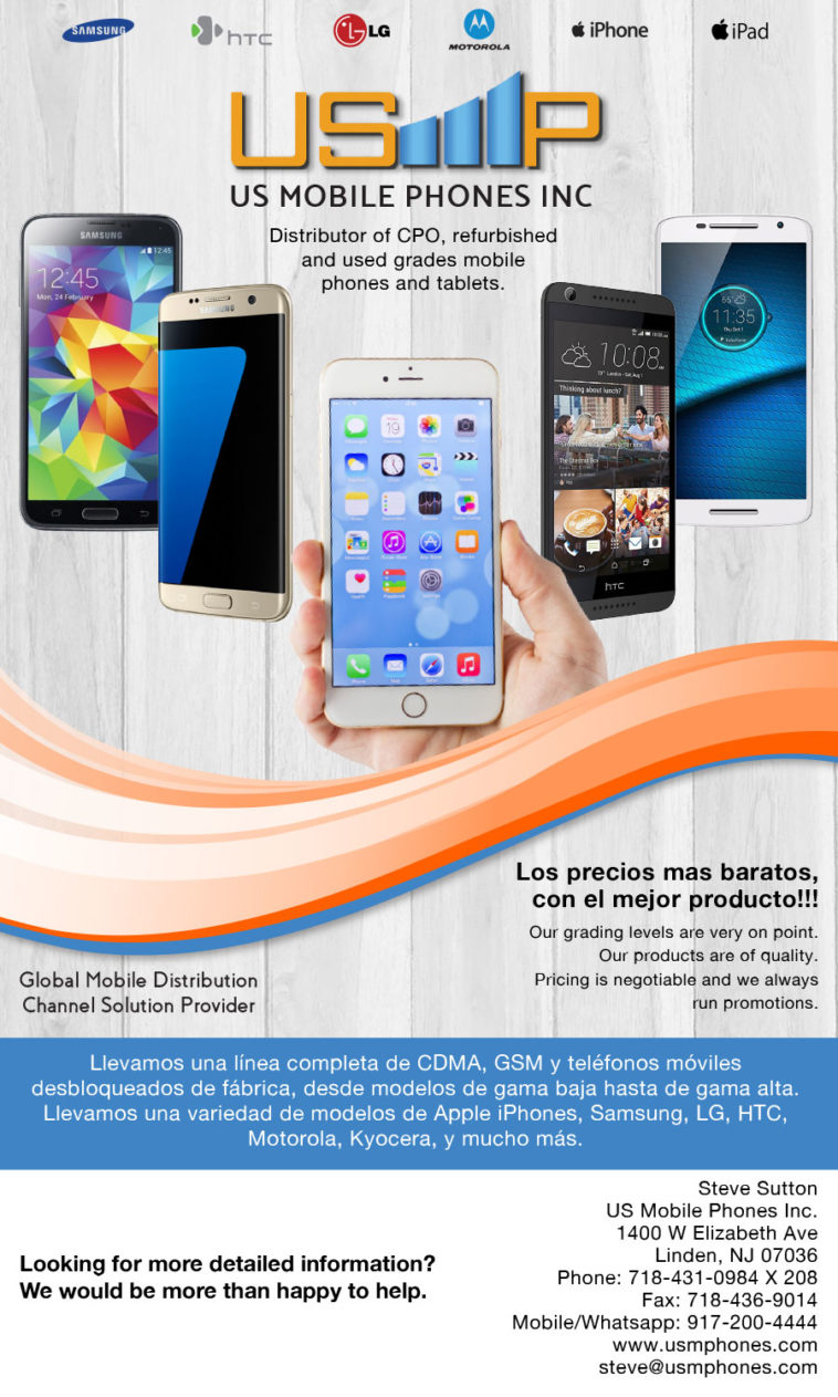wholesale distirbution of cell phones worldwide