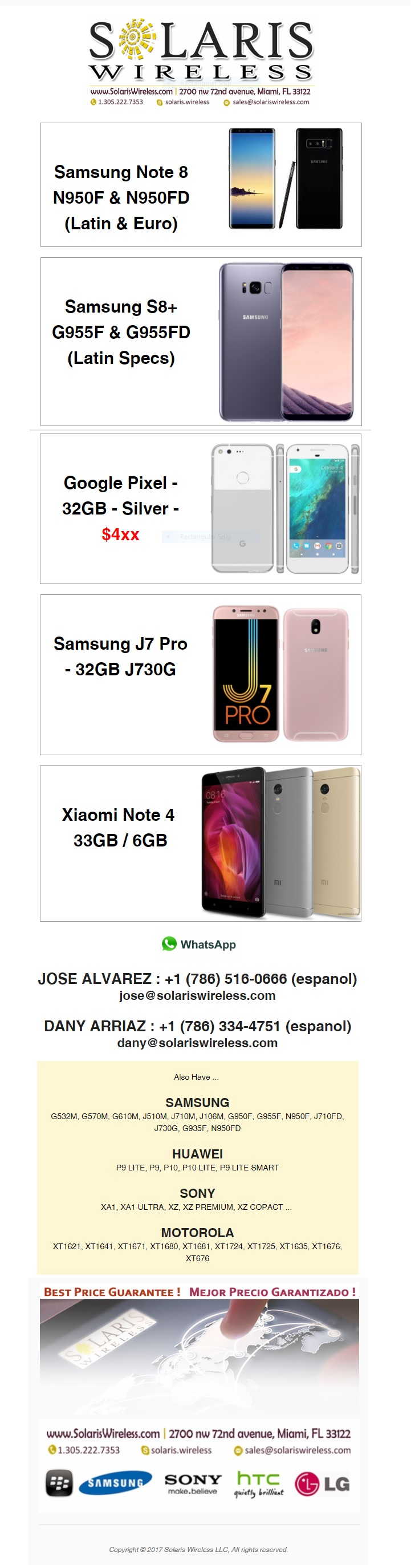 wholesale samsung, xiaomi, google pixel, cell phones