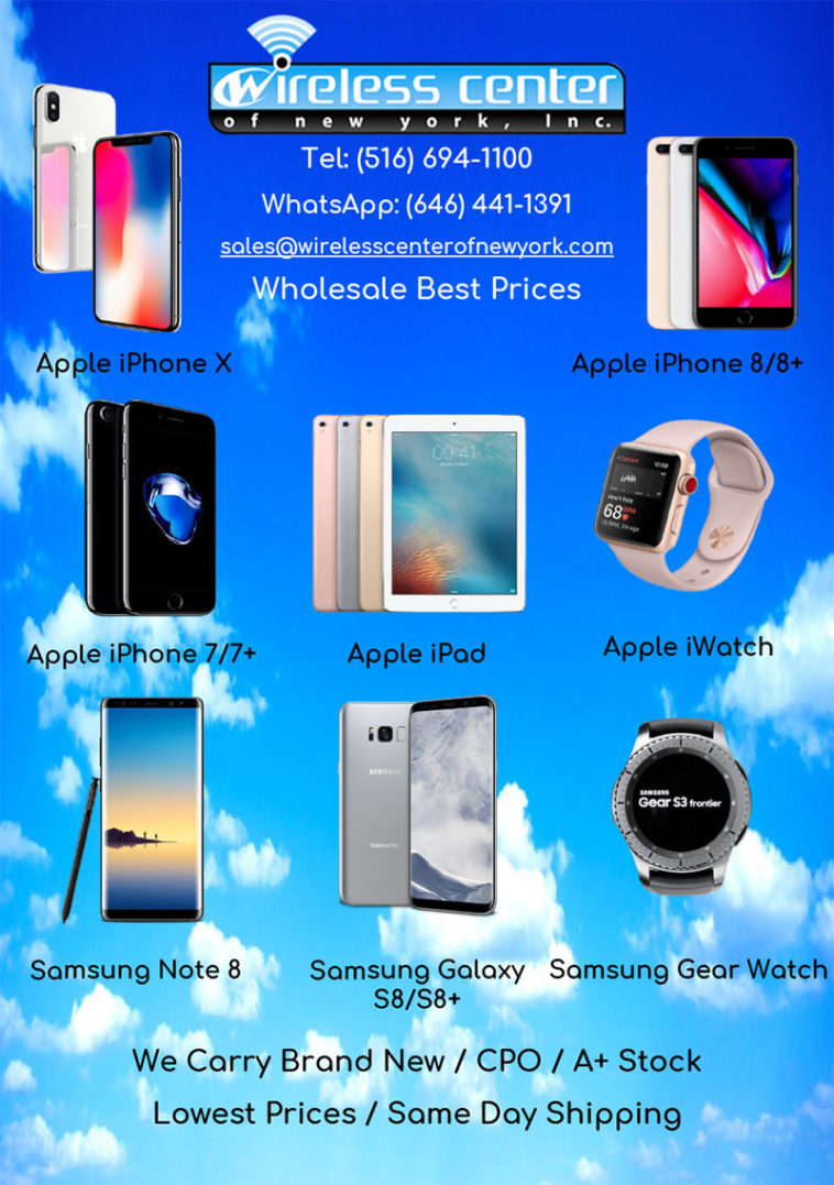 wholesale cell phones, tablets, wearable tech