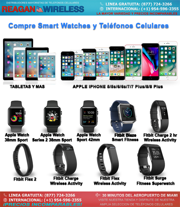 Wholesale Smartwatches and Cell phones | Reagan Wireless