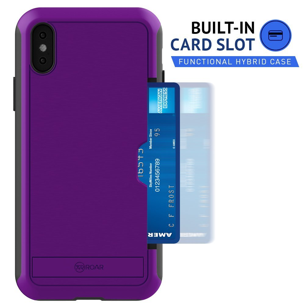 Wholesale - Awesome iPhone X Card Slot Case