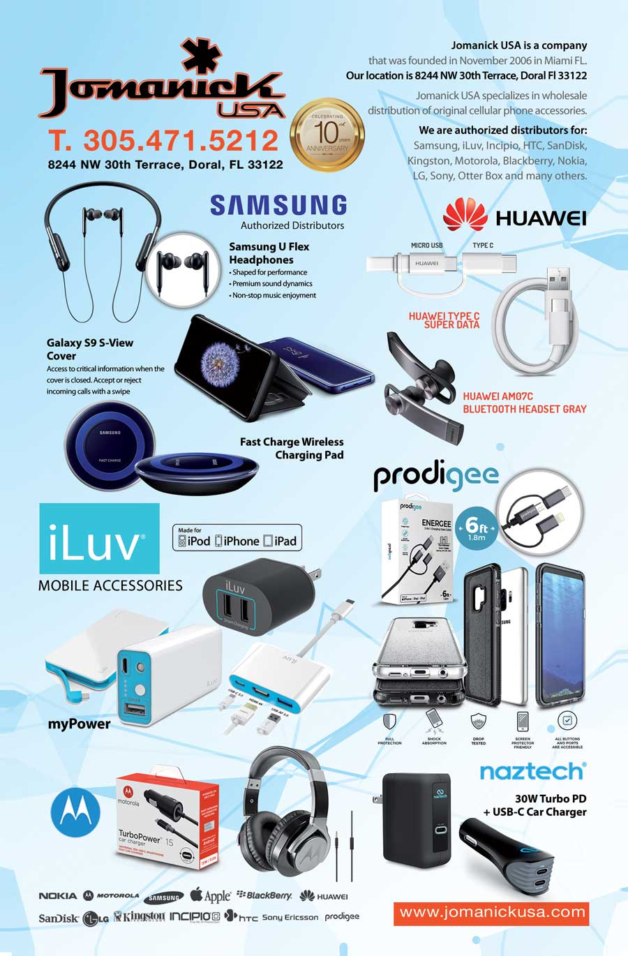 Jomanick USA: Wholesaler of cell phone accessories