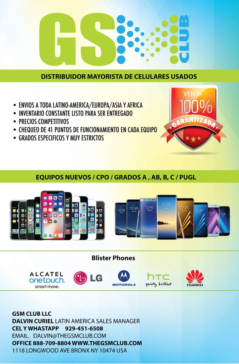 Wholesale distributor of cell phones, new, used, grade a, b, c