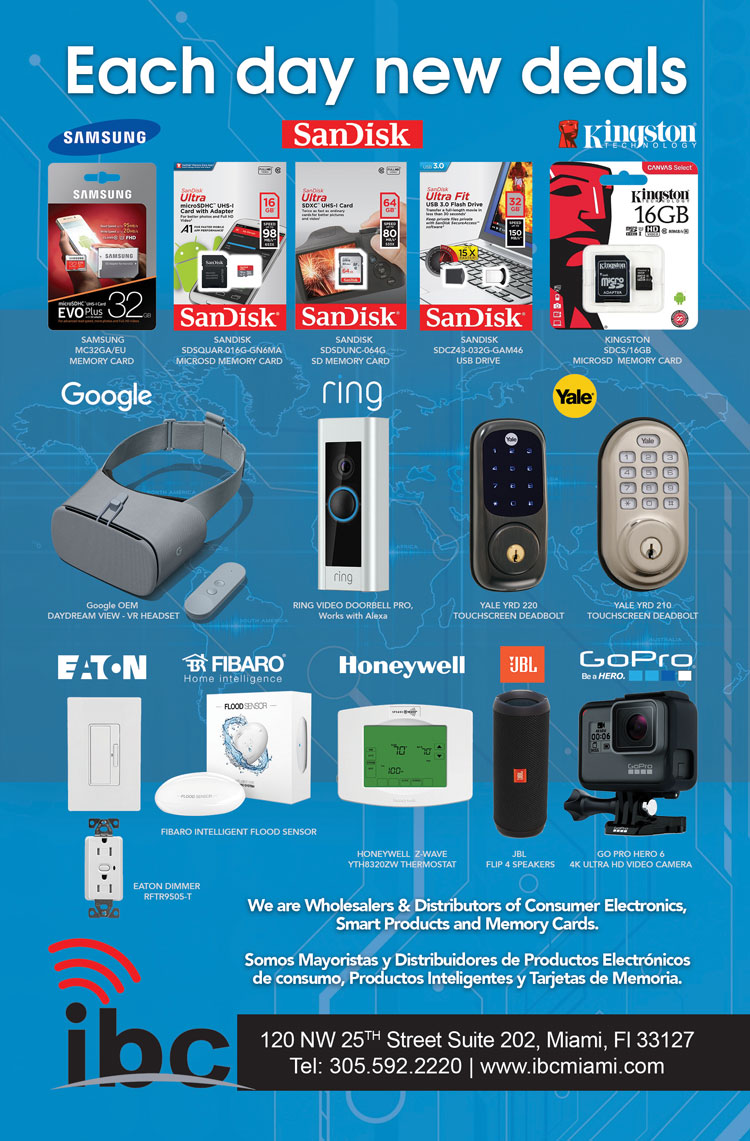wholesale distributor consumer electronics, smart products