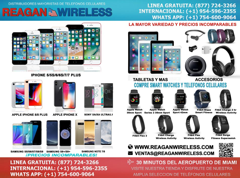 Wholesalers of cell phones, accesories, wearable tech, tablets
