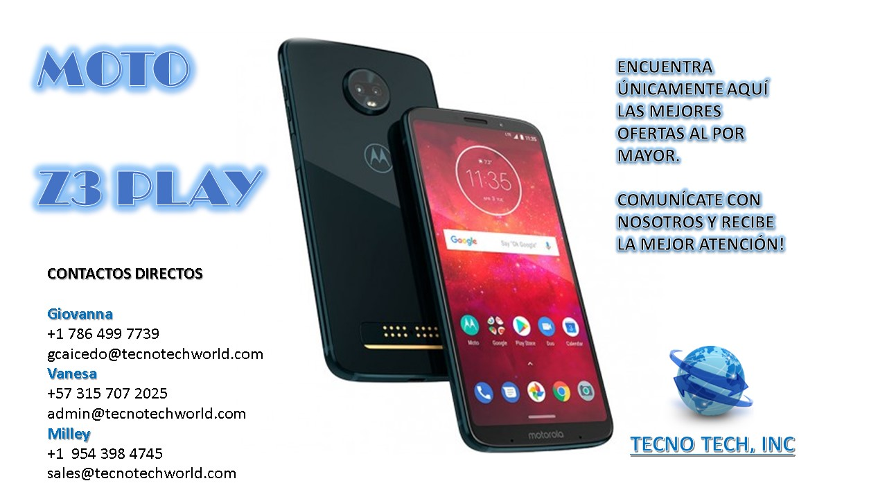 Wholesale MOTO Z3 PLAY