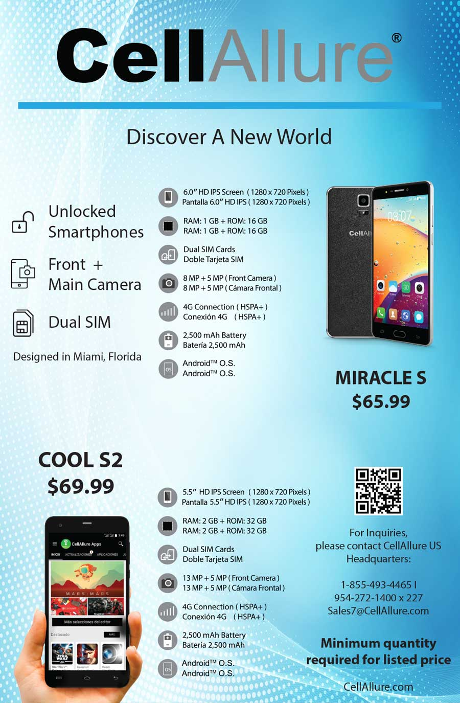 CellAllure: Unlocked Cell Phones | Android | DUAL SIM