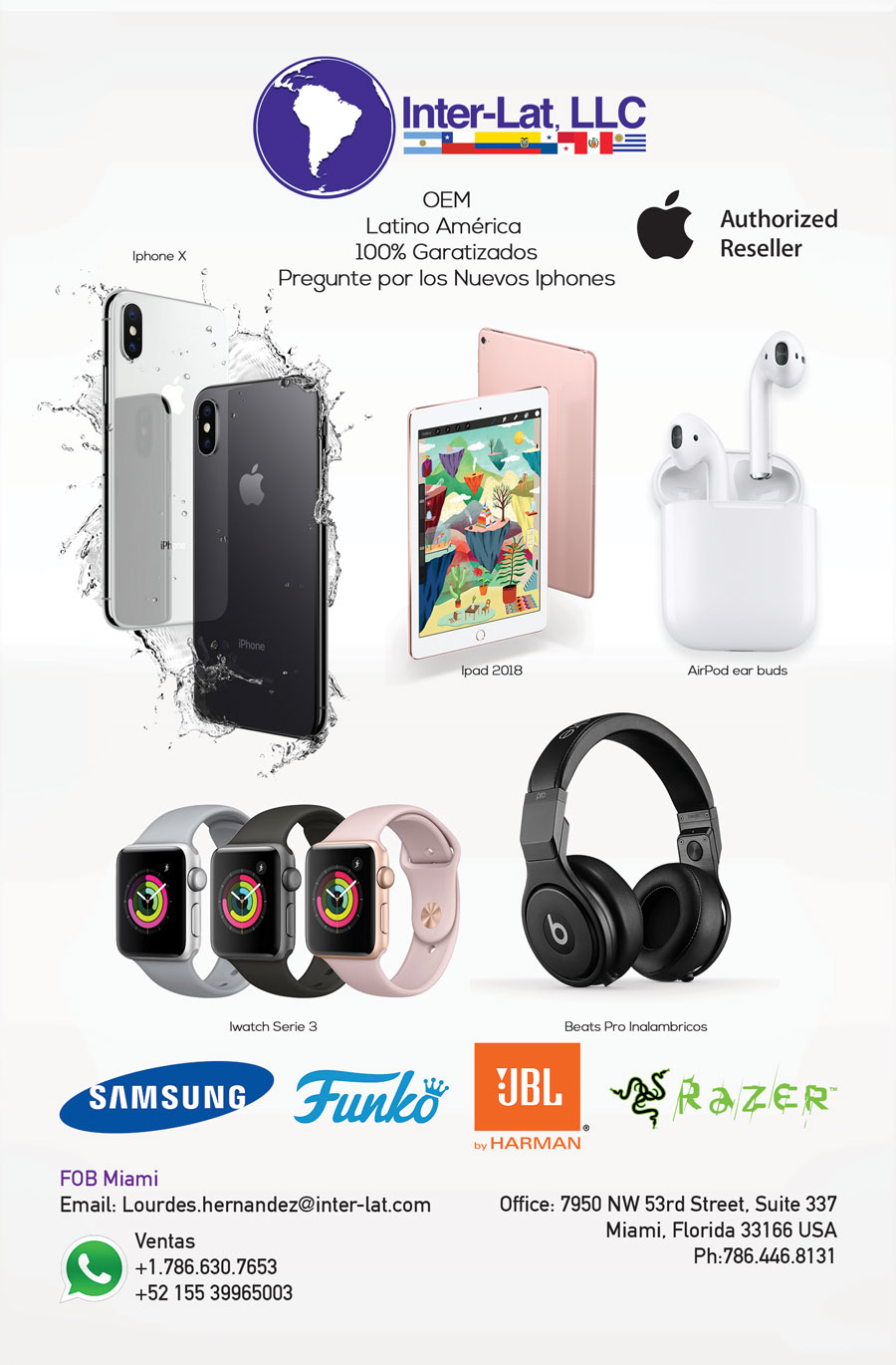 Inter-Lat: Wholesale Cell Phones, Accessories, Smartwatch