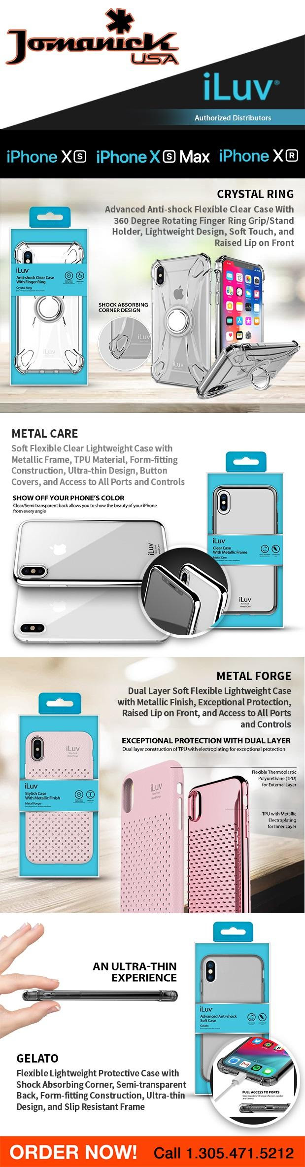 Wholesale cases for iPhone Xs, iPhone Xs Max, iPhone Xr