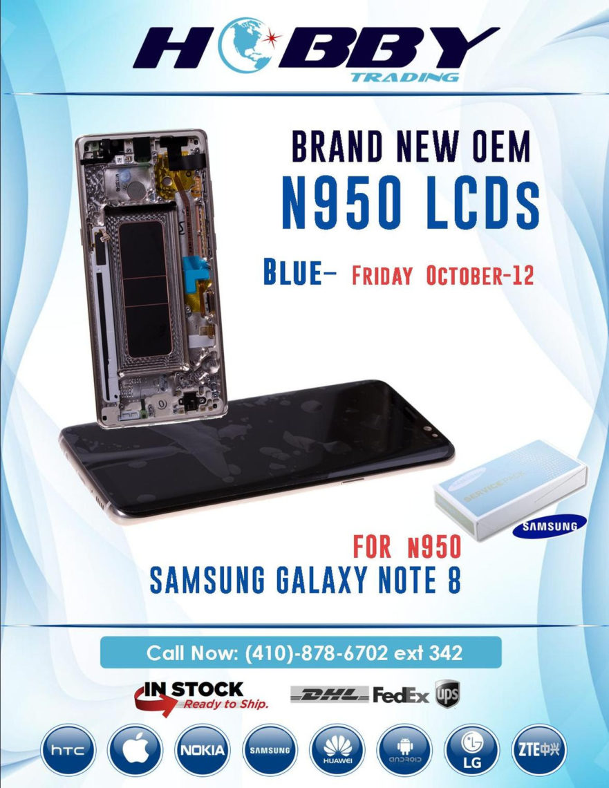 wholesale LCD samsung galaxy note 8