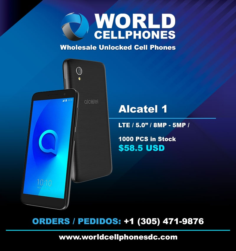alacatel 1 cell phones