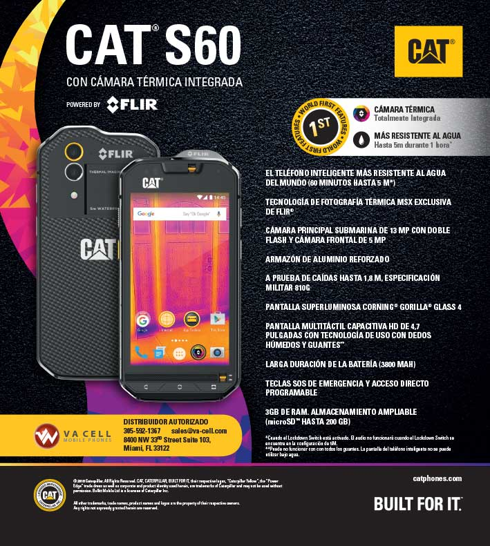 WHOLESALE CAT S60