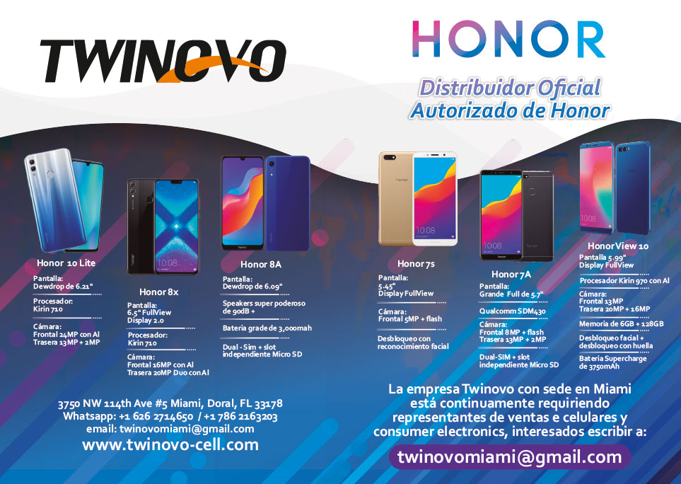 Twinovo Cell: Authorized Distributor of Honor