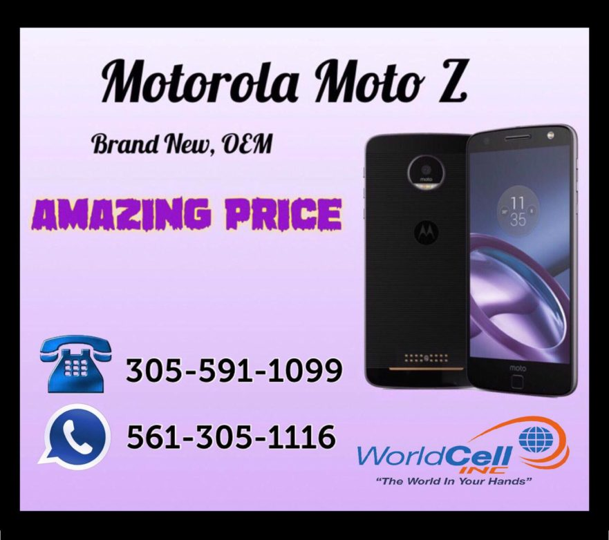 Wholesaler of motorola moto z