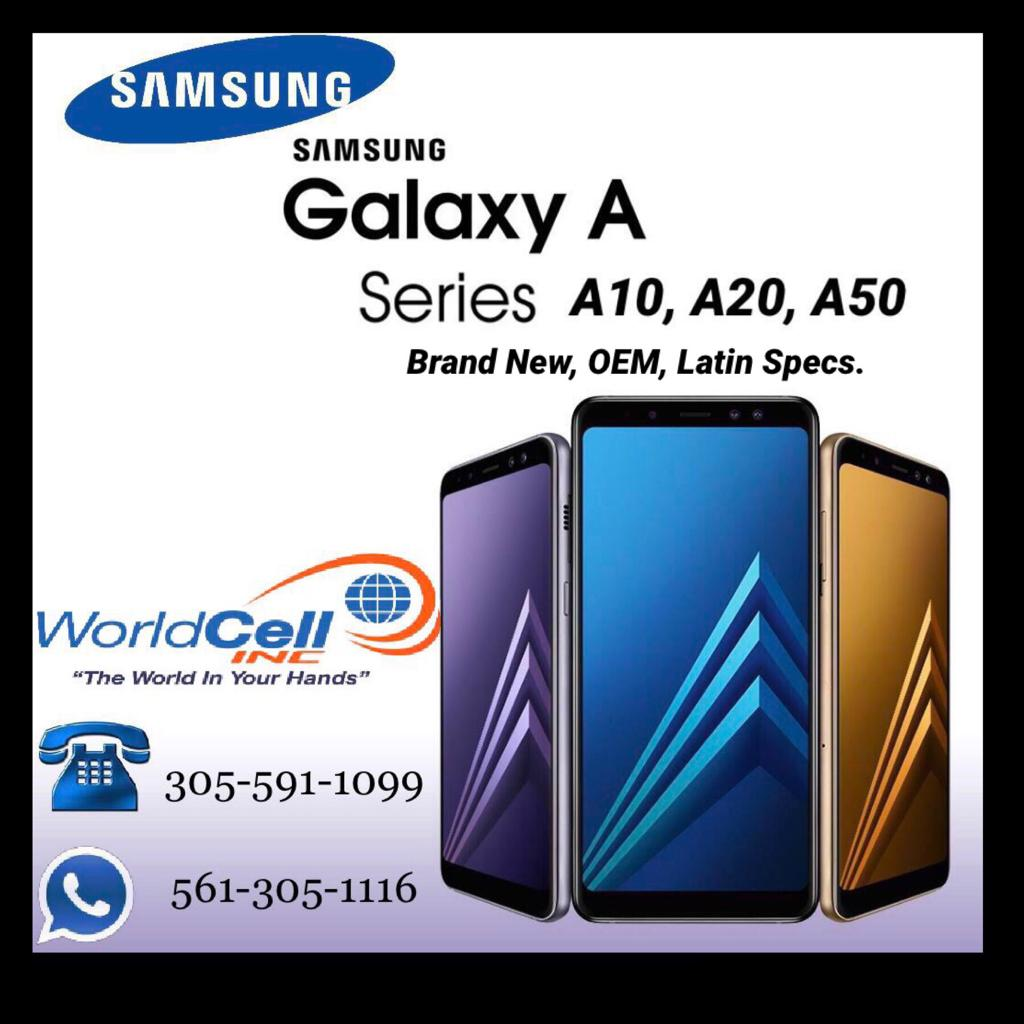 Wholesale Samsung Galaxy Series A10, A20, A50