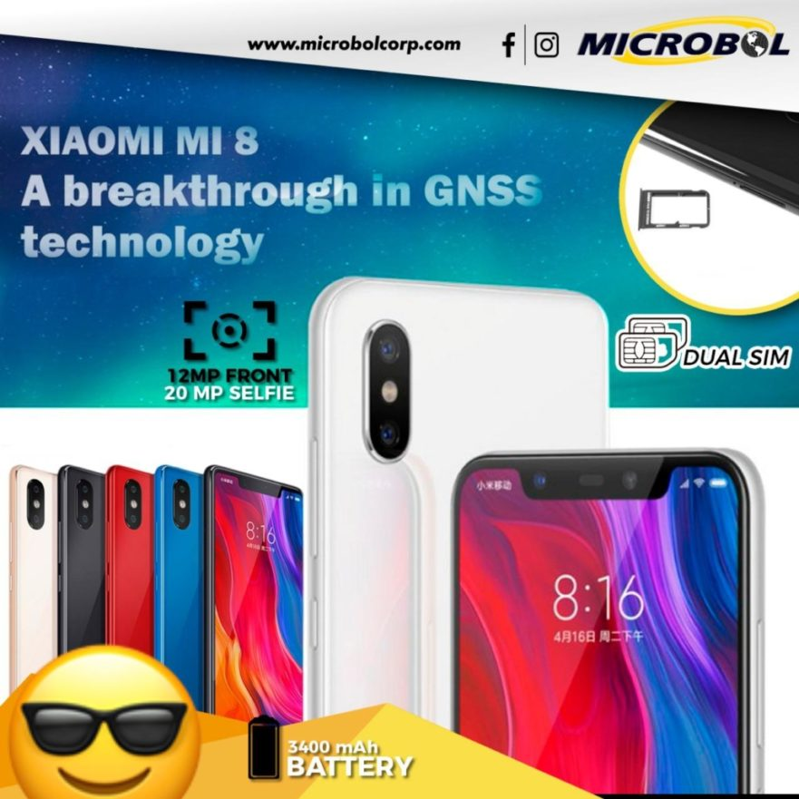 wholesale xiaomi mi 8 cell phone