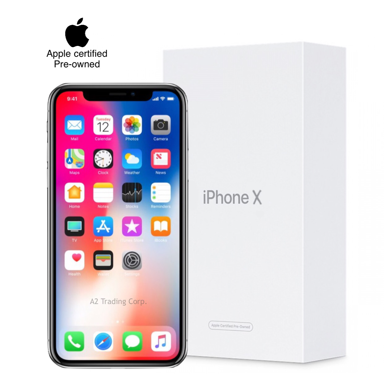 Wholesale iPhone X (CPO) 256GB - Space Gray