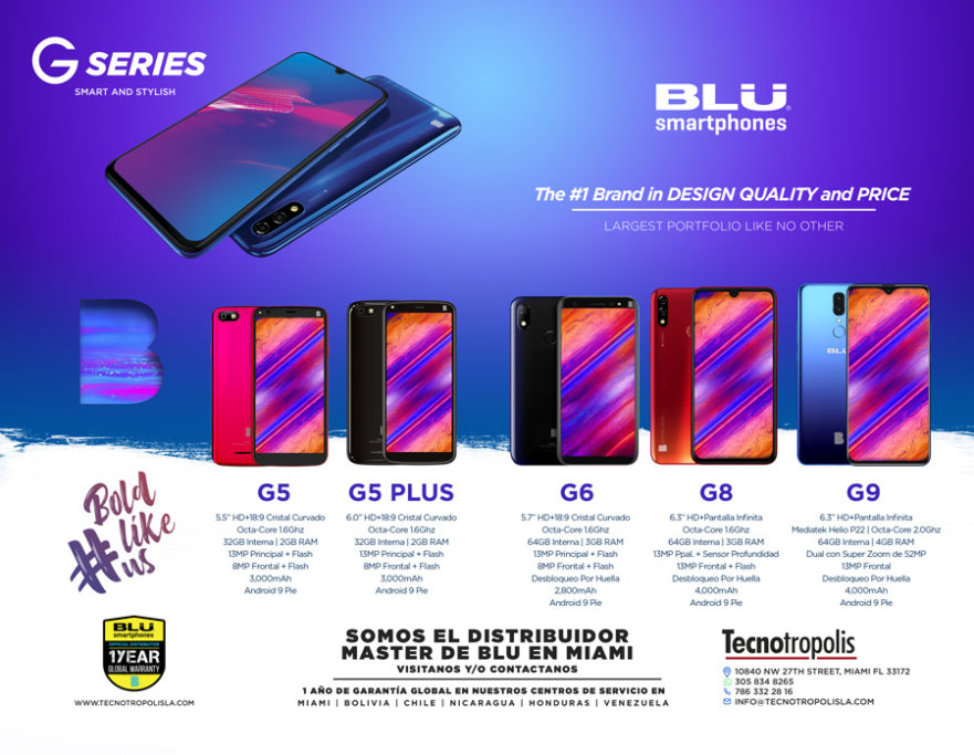 wholesaler of blu smartphones