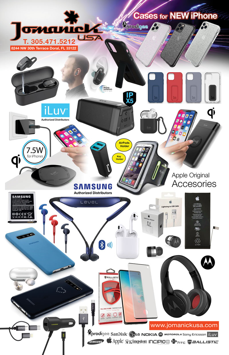 Jomanick USA: Wholesale distributor of cell phone accessories, cases, cables, and more