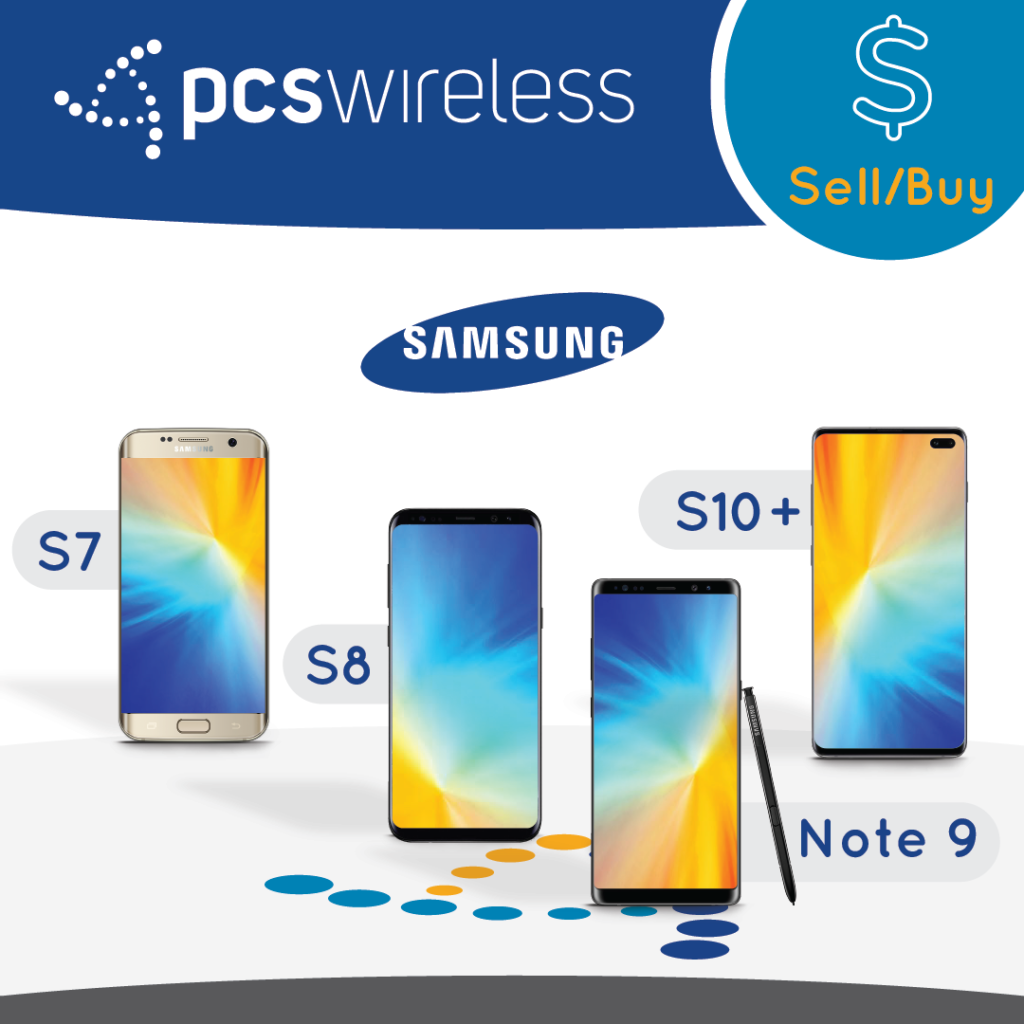 Samsung Galaxy Wholesale S7, S8, S10+, Note 9